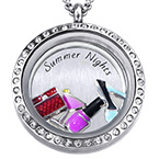 Summer Nights Floating Locket