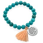 Tree of Life Yoga Bead Bracelet