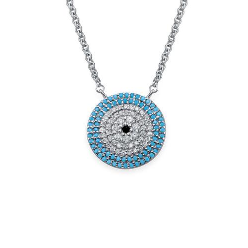 Turkish Evil Eye necklace