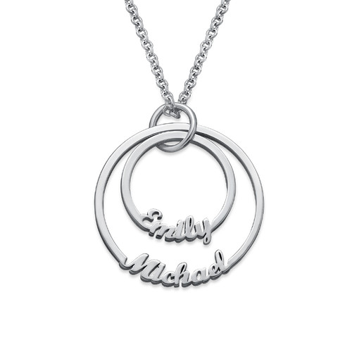 Two Disc Necklace - Yours Truly Collection