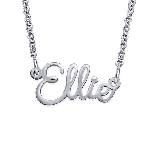Signature Wire Cursive Name Necklace