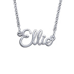 Wire Cursive Name Necklace - Next Generation Collection