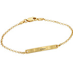 Women's ID Bracelet in Gold Plating