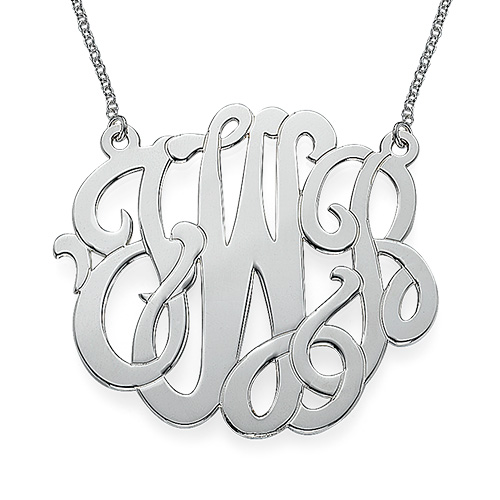 XXL Premium Monogram Necklace