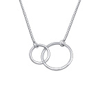 You & Me Circle necklace