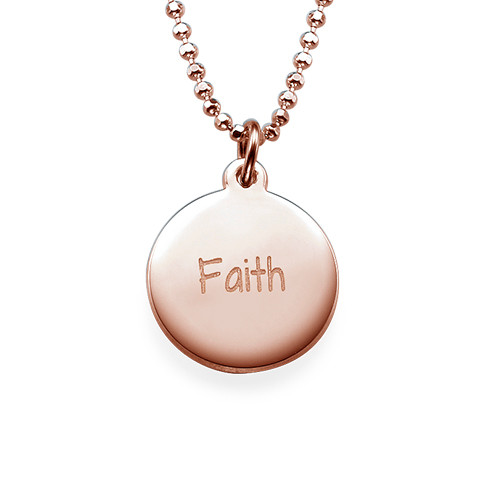 Faith Inspirational Necklace RGP
