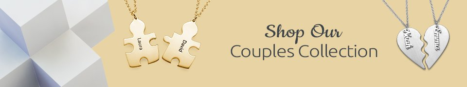 Personalized Couples Jewelry