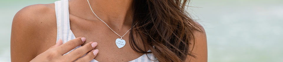 Personalized Couples Necklaces & Jewelry