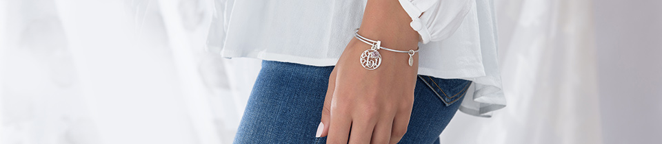 Monogram Initial Bracelets
