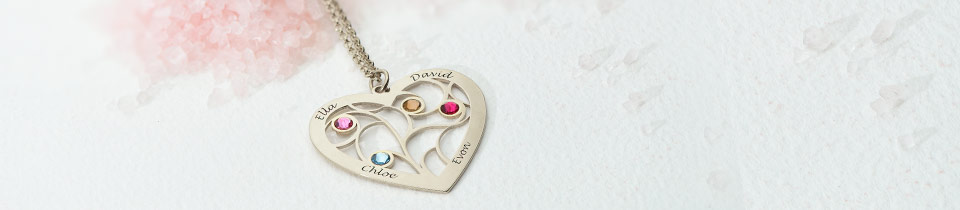 Family Tree of Life Necklaces