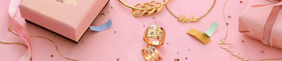 Birthday necklaces