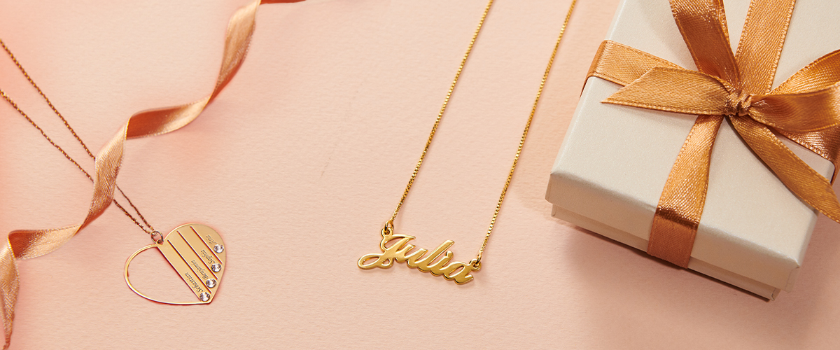 Solid Gold vs Gold Plated Jewelry | My Name Necklace