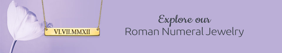 Roman Numeral Jewelry