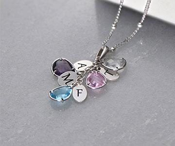 December Birthstone Necklace For Men