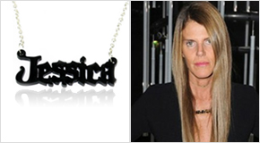 Name Necklace Anna Dello Russo