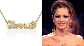 Name Necklace Cheryl Cole
