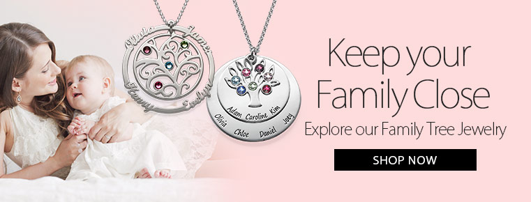 Family & Tree of Life Jewelry