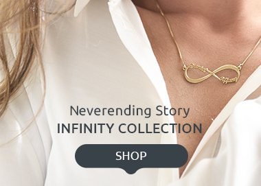 Infinity Necklaces & Jewelry