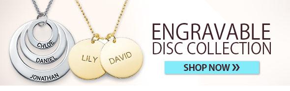 Engraved Discs & Circles