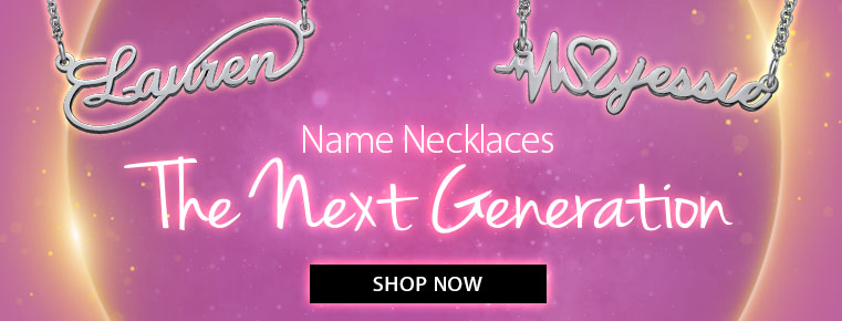 Name Necklace- The Next Generation