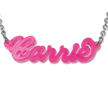 Classic Carrie Style Color Name Necklace