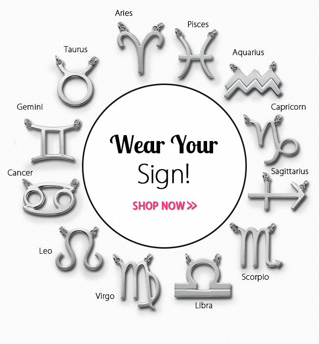 Wear Your Zodiac Sign
