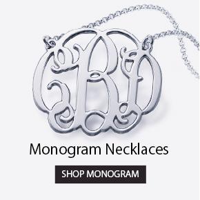 Monogram Necklaces