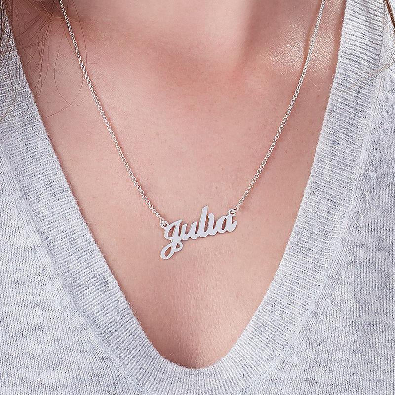 Piccola Collana Personalizzata con Nome in Argento 925 - 5