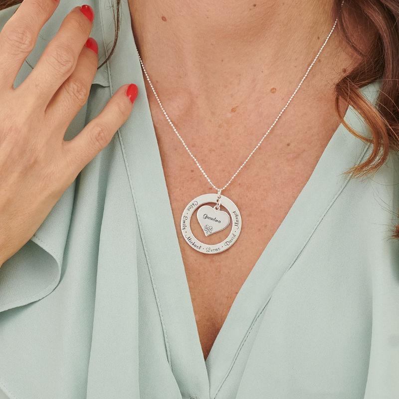Collana per la Nonna o la Mamma in Argento Sterling - 3