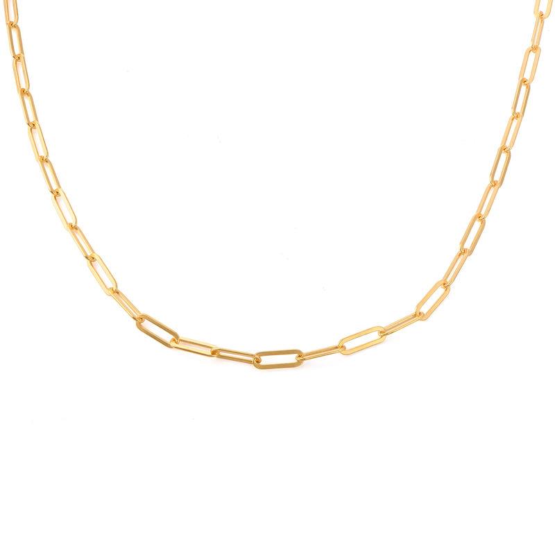 Collar Enlaces de cadena en Oro vermeil de 18k