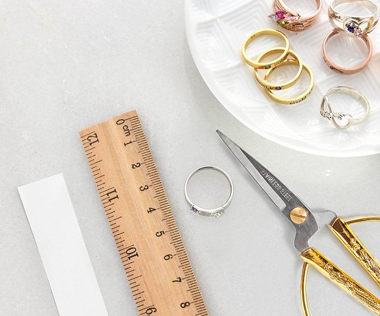 hoe de maat van je ring meten