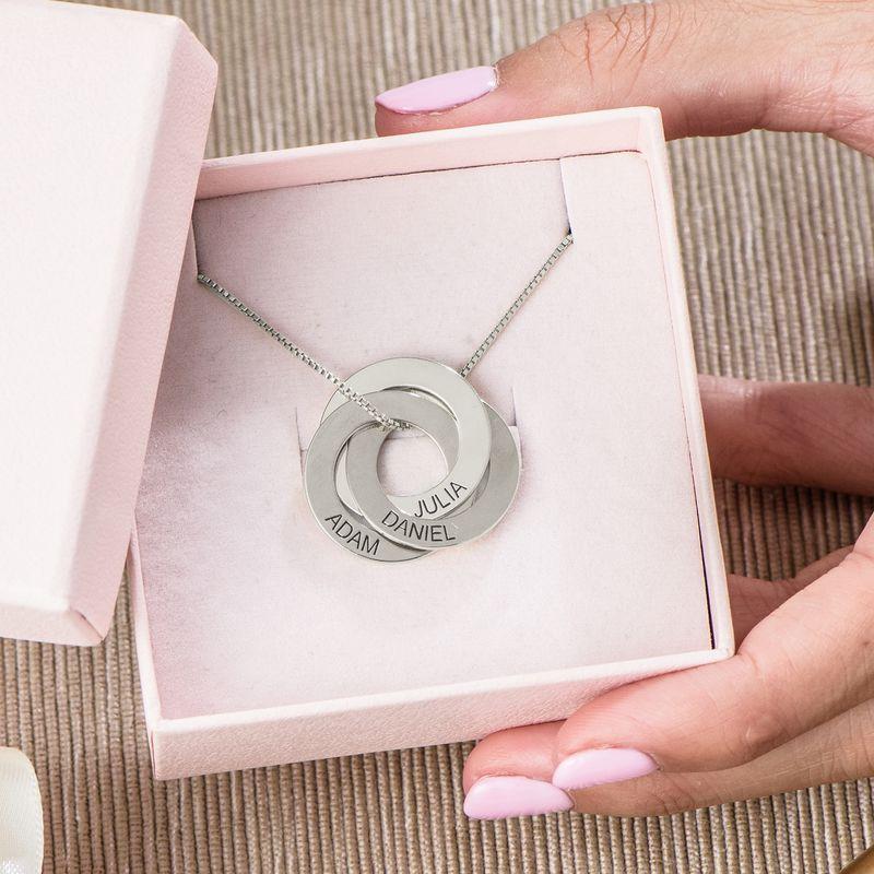 Mama Ketting met Russische Ring en Ingravering - 5