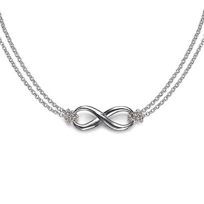 Infinity Hanger in 925 Zilver - 1