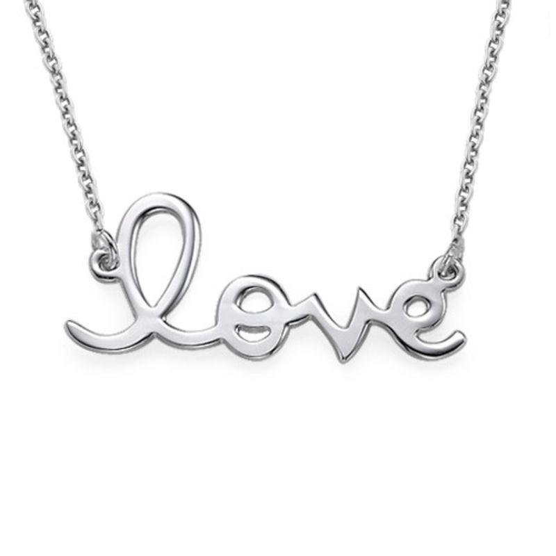 Love Ketting in 925 Zilver
