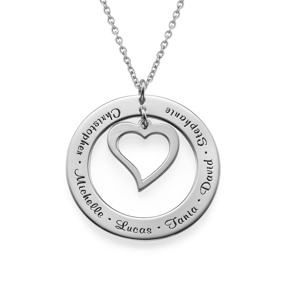 Love My Family Mama Ketting in 925 Zilver