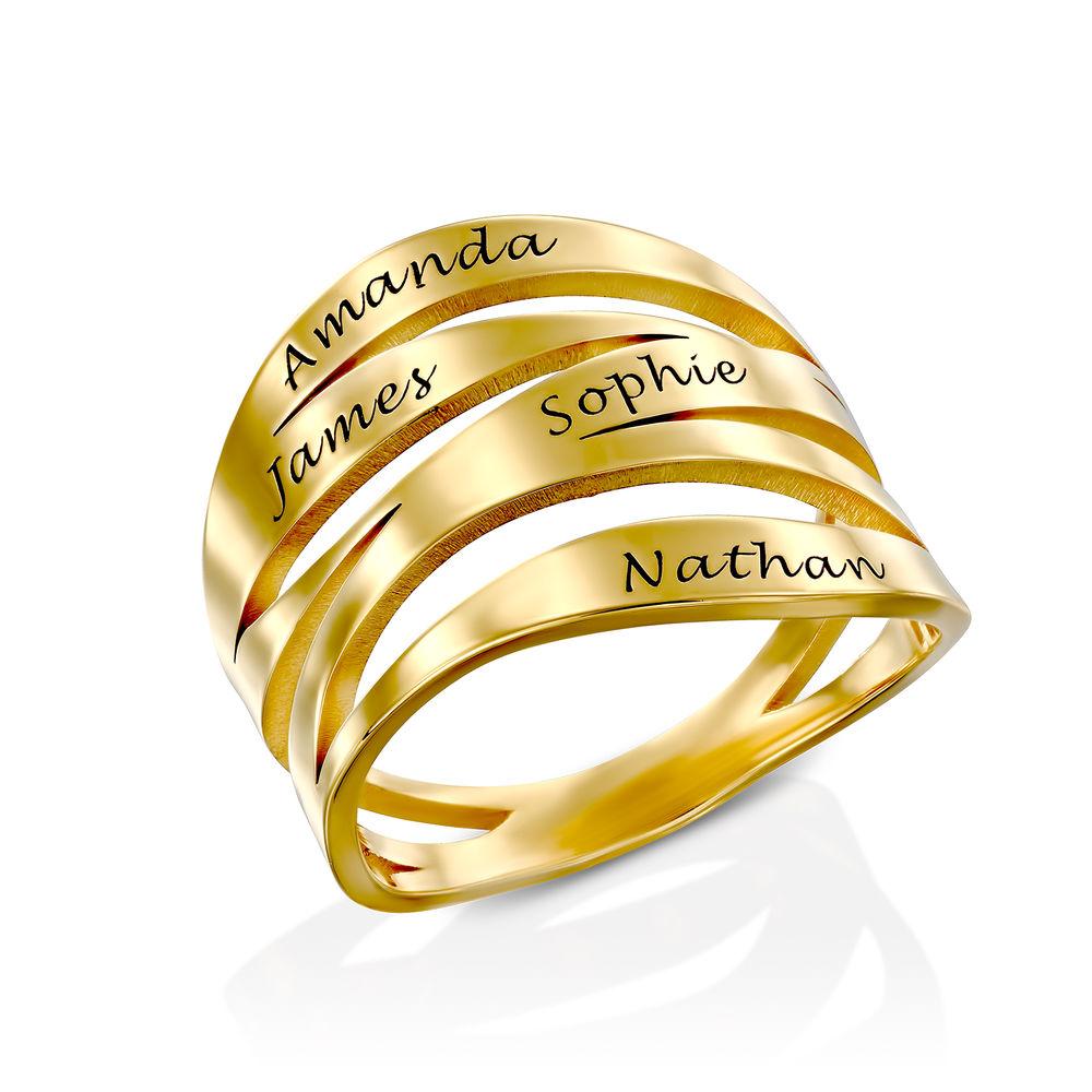 Margeaux Ring in 18K Goud Vergul