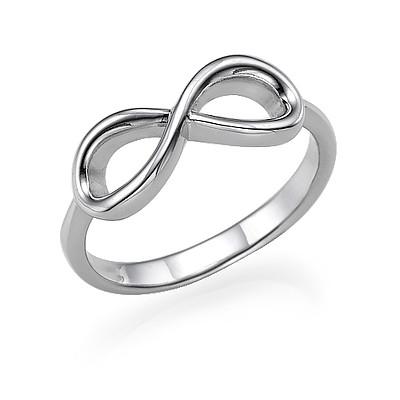 Infinity Ring in 925 Zilver