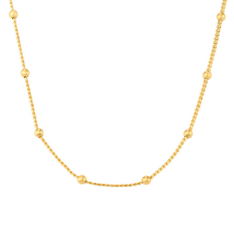 Bobble ketting - Goud Verguld