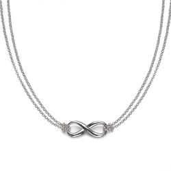 Infinity Hanger in 925 Zilver Productfoto