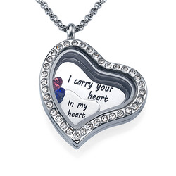 I Carry Your Heart Floating Locket Productfoto