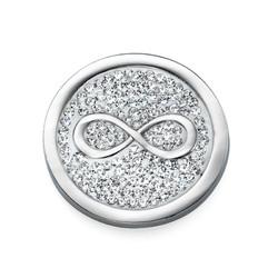 Zilveren Munt met Infinitysymbool