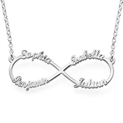 Infinity Halsband med 4 Namn