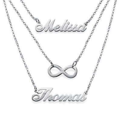 3 halsband i 1 - av Sterling Silver