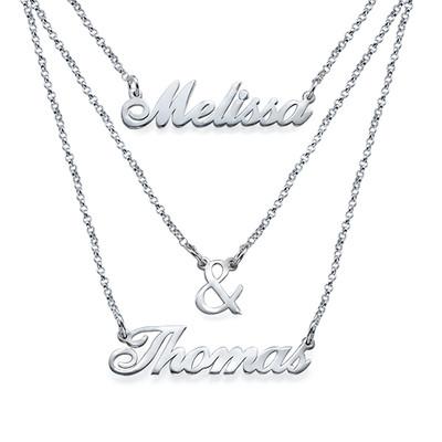 3 halsband i 1 - av Sterling Silver - 2