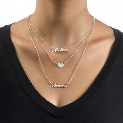 3 halsband i 1 - av Sterling Silver - 3