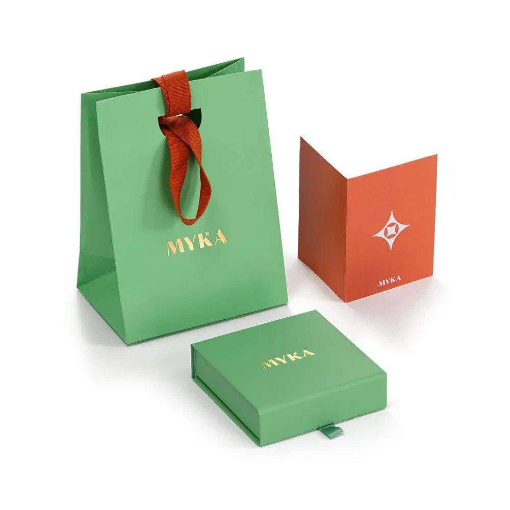 Premium Presentförpackning - Presentask, Kort, och Påse