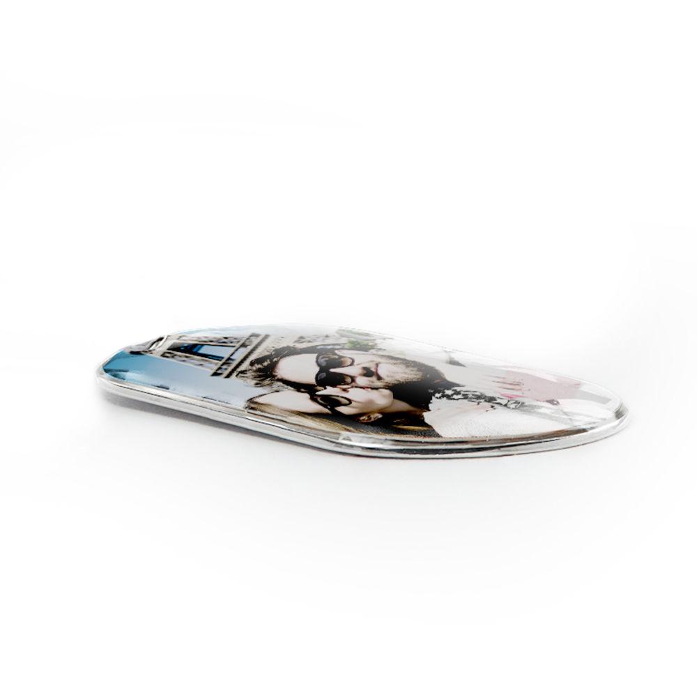 Halsband med foto och id-bricka i sterlingsilver - 2