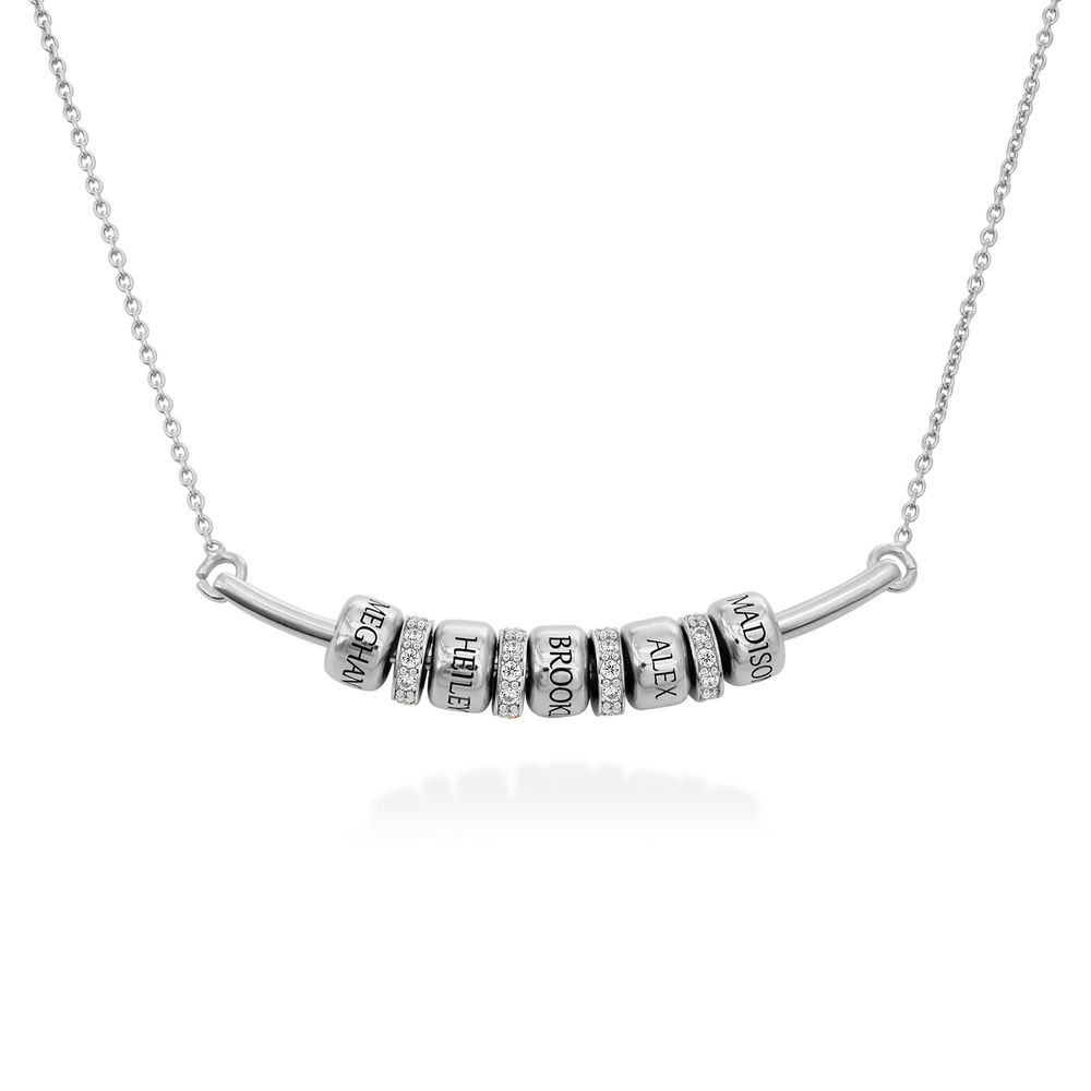 The Smile Bar - Halsband med Personliga Berlocker i Sterling Silver