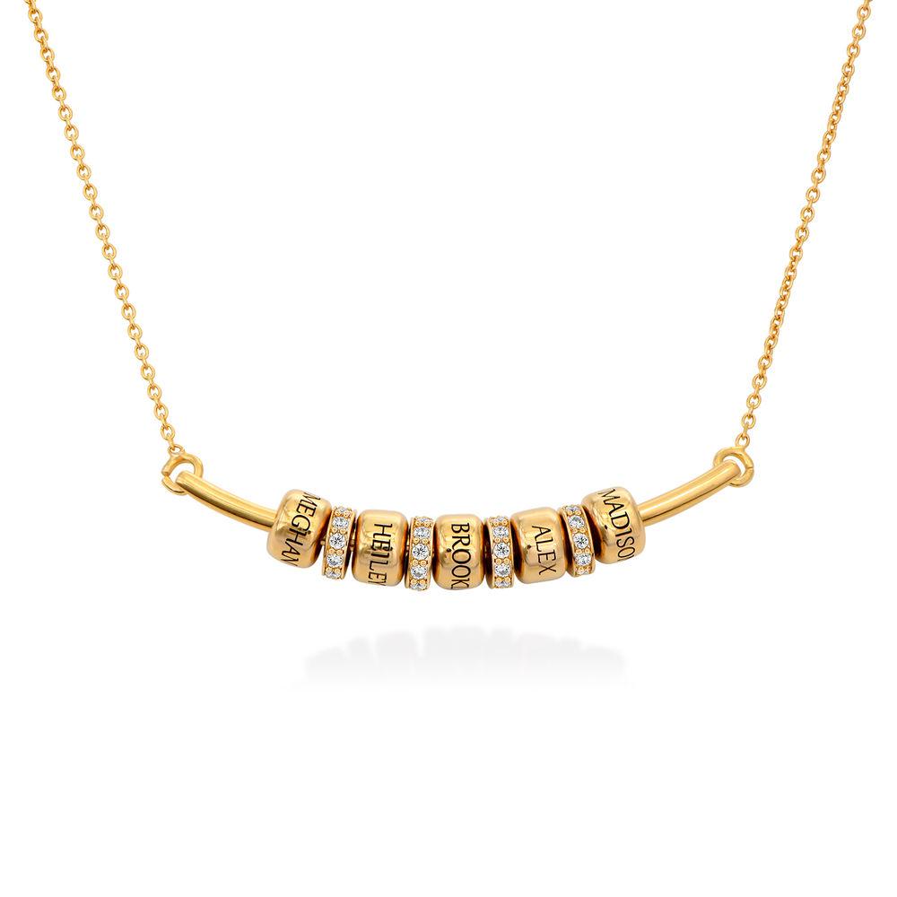 The Smile Bar - Halsband med Personliga Berlocker i Guldplätering