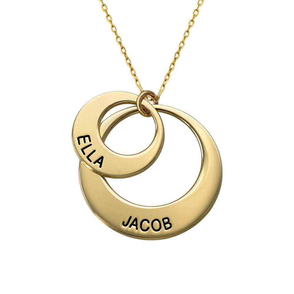 Smycke för mamma - Brickhalsband i 10k guld - 1